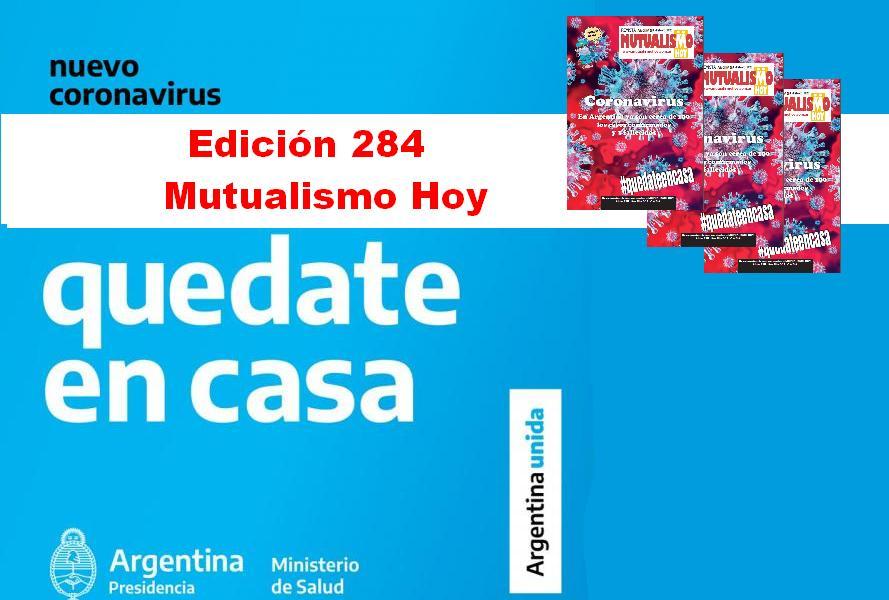 YA ESTÁ DISPONIBLE LA EDICIÓN 284 DE MUTUALISMO HOY